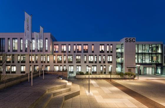 Ruhr Universität Bochum-Außenansicht