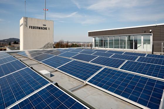 Feuerwehr Aachen - Photovoltaikanlage