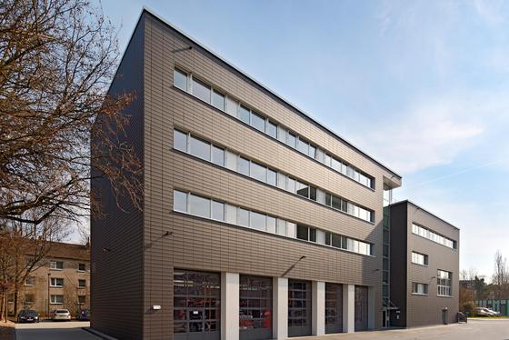 Feuerwehr Aachen - Außenansicht