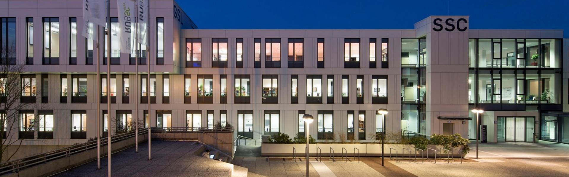 Ruhr-Universität Bochum - Außenansicht